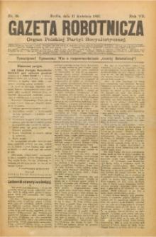 Gazeta Robotnicza, 1897, R. 7, nr 16