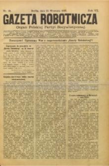 Gazeta Robotnicza, 1897, R. 7, nr 39