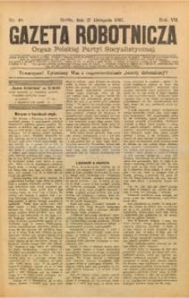 Gazeta Robotnicza, 1897, R. 7, nr 48