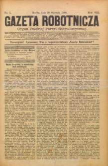 Gazeta Robotnicza, 1898, R. 8, nr 5