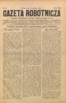 Gazeta Robotnicza, 1898, R. 8, nr 8