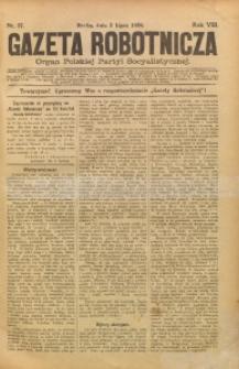 Gazeta Robotnicza, 1898, R. 8, nr 27