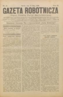 Gazeta Robotnicza, 1899, R. 9, nr 21
