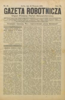 Gazeta Robotnicza, 1899, R. 9, nr 39