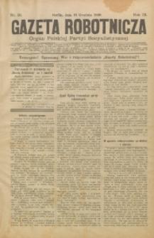 Gazeta Robotnicza, 1899, R. 9, nr 50
