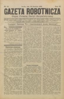 Gazeta Robotnicza, 1899, R. 9, nr 52