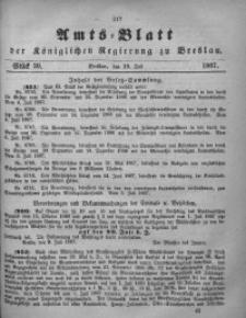 Amts-Blatt der Königlichen Regierung zu Breslau, 1867, Bd. 58, St. 29