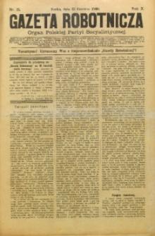 Gazeta Robotnicza, 1900, R. 10, nr 25