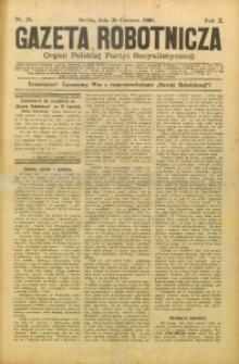 Gazeta Robotnicza, 1900, R. 10, nr 26