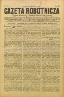Gazeta Robotnicza, 1900, R. 10, nr 28