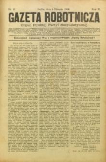 Gazeta Robotnicza, 1900, R. 10, nr 31