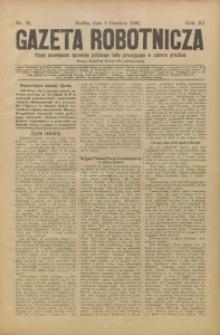 Gazeta Robotnicza, 1901, R. 11, nr 22