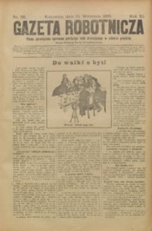 Gazeta Robotnicza, 1901, R. 11, nr 38