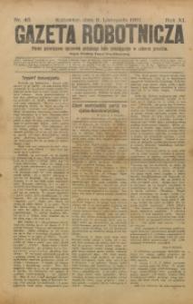 Gazeta Robotnicza, 1901, R. 11, nr 45