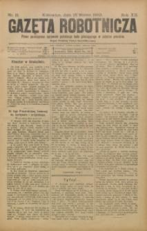 Gazeta Robotnicza, 1902, R. 12, nr 11
