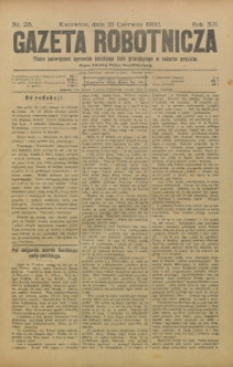 Gazeta Robotnicza, 1902, R. 12, nr 25
