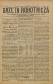 Gazeta Robotnicza, 1902, R. 12, nr 35