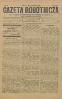 Gazeta Robotnicza, 1903, R. 13, nr 16