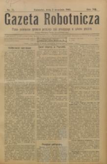 Gazeta Robotnicza, 1903, R. 13, nr 71