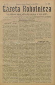 Gazeta Robotnicza, 1903, R. 13, nr 87