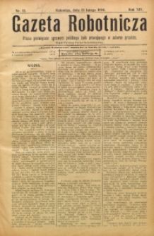 Gazeta Robotnicza, 1904, R. 14, nr 12