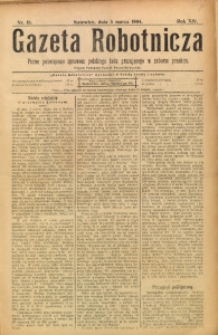 Gazeta Robotnicza, 1904, R. 14, nr 18