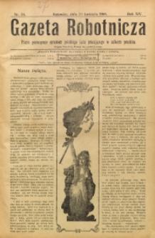 Gazeta Robotnicza, 1904, R. 14, nr 34