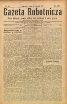 Gazeta Robotnicza, 1904, R. 14, nr 67