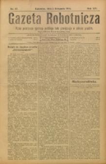 Gazeta Robotnicza, 1904, R. 14, nr 87