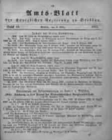 Amts-Blatt der Königlichen Regierung zu Breslau, 1867, Bd. 58, St. 10