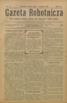 Gazeta Robotnicza, 1905, R. 15, nr 2