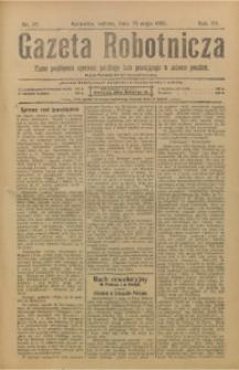 Gazeta Robotnicza, 1905, R. 15, nr 37