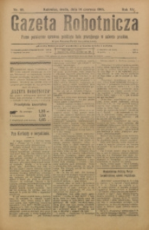 Gazeta Robotnicza, 1905, R. 15, nr 46