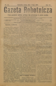 Gazeta Robotnicza, 1905, R. 15, nr 52