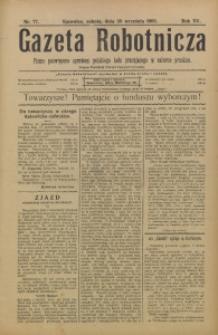 Gazeta Robotnicza, 1905, R. 15, nr 77