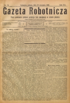 Gazeta Robotnicza, 1906, R. 16, nr 76