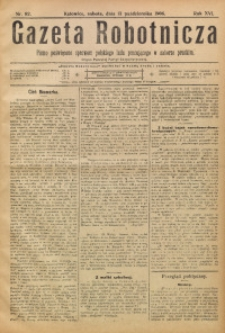 Gazeta Robotnicza, 1906, R. 16, nr 82