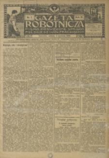 Gazeta Robotnicza, 1908, R. 18, nr 1