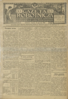 Gazeta Robotnicza, 1908, R. 18, nr 8