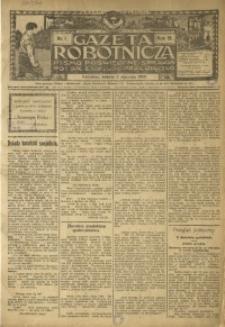 Gazeta Robotnicza, 1909, R. 19, nr 1