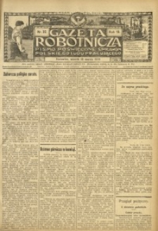 Gazeta Robotnicza, 1909, R. 19, nr 32