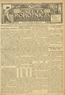 Gazeta Robotnicza, 1909, R. 19, nr 33