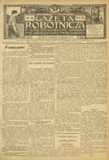 Gazeta Robotnicza, 1909, R. 19, nr 42