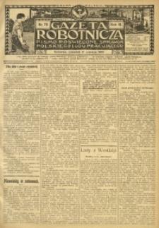 Gazeta Robotnicza, 1909, R. 19, nr 70