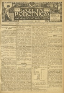 Gazeta Robotnicza, 1909, R. 19, nr 79