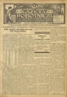 Gazeta Robotnicza, 1909, R. 19, nr 100
