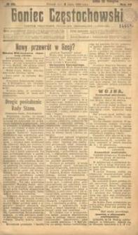 Goniec Częstochowski : dziennik polityczny, społeczny, ekonomiczny i literacki, 1918, R.12, Nr 132