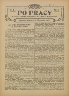 Po Pracy, 1909, R. 3, nr 3
