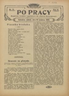 Po Pracy, 1909, R. 3, nr 15