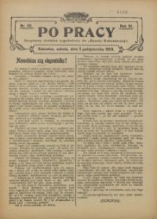 Po Pracy, 1909, R. 3, nr 40